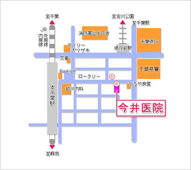 今井医院map